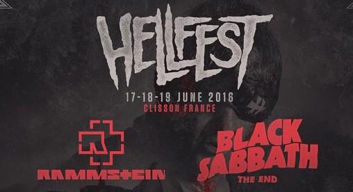 Consulta aquí el cartel el festival HellFest 2016.