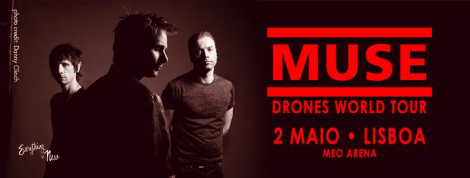 Muse en Lisboa en Mayo de 2016. Entradas en www.masqueticket.com
