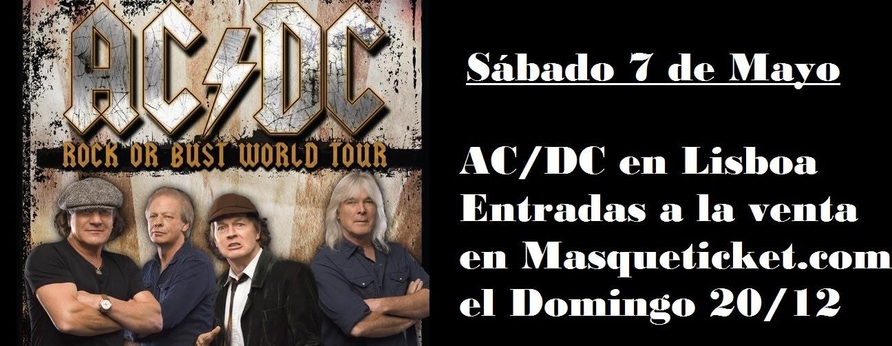 entradas gira ACDC en www.masqueticket.com
