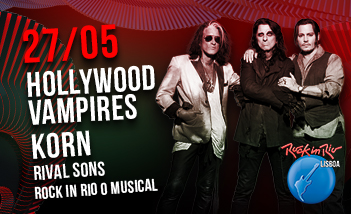 Hollywood Vampires - Korn - Rival Sons. Entradas