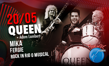 Queen + Adam Lambert - Mika - Fergie - Entradas aquí