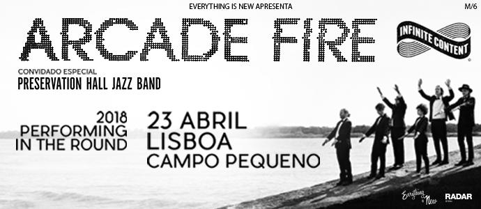 Entradas para Arcade Fire en Lisboa. Punto de venta oficial