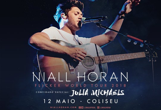 Entradas Niall Horan en Lisboa 2018
