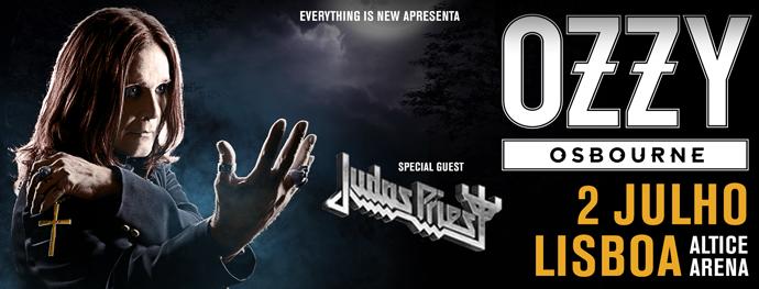 Entradas Ozzy Osbourne gira 2018 Lisboa MasQueTicket