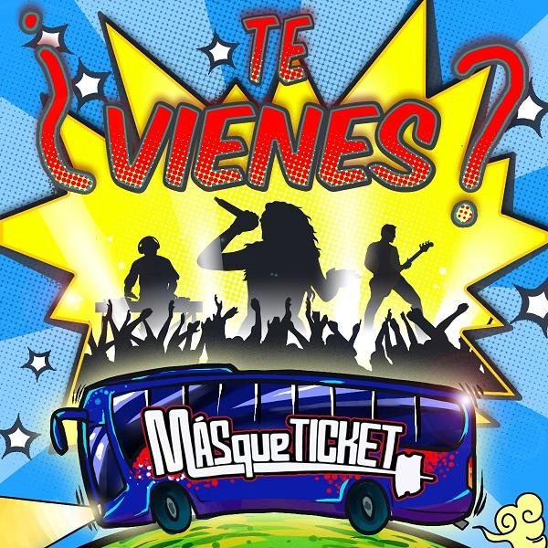 Viajes organizados en autobús a conciertos y festivales