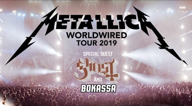 Punto de venta oficial Metallica en Lisboa 2019