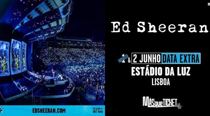 Ed Sheeran en Lisboa. Entradas oficiales. 2 de junio 2019