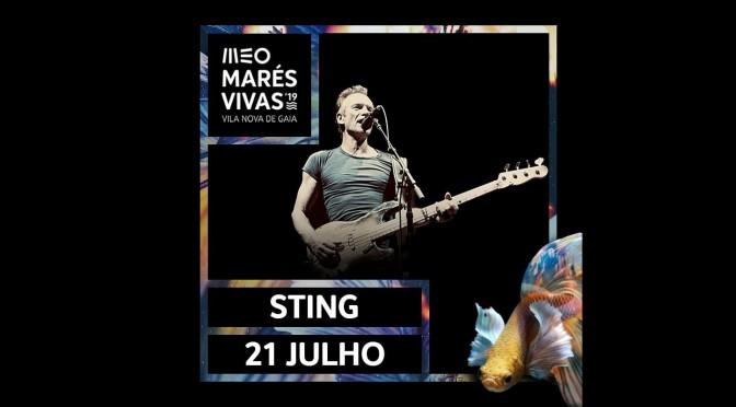 STING en el festival Meo Marés Vivas 2019 (Vila Nova de Gaia, Oporto, Portugal)