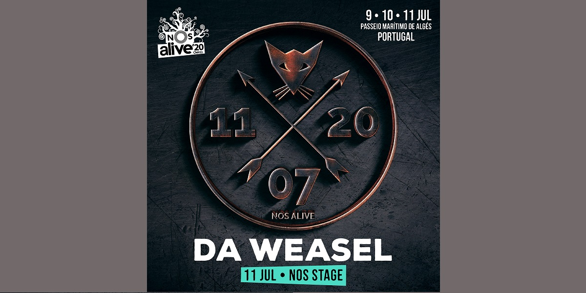 NOS Alive 2020. fechas y primera confirmación del cartel: Da Weasel.