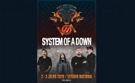 System Of a Down en el festival VOA 2020, en Algés (Oeiras, Lisboa)