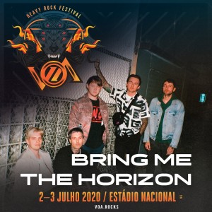 Bring Me The Horizon en festival VOA 2020