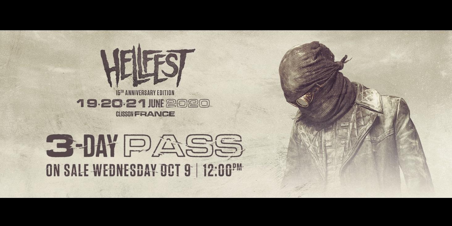 Hellfest 2020. Abonos oficiales