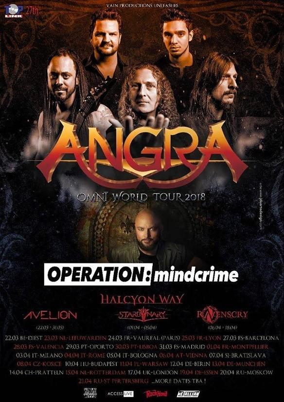ANGRA + GEOFF TATE's Operation Mindcrime (Oporto)