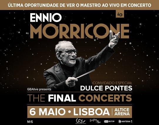 ENNIO MORRICONE (Lisboa)
