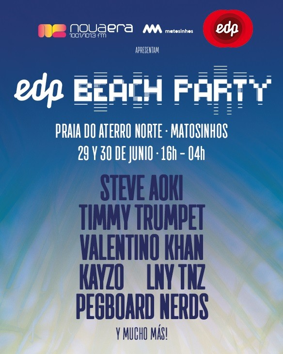 EDP NOVA ERA BEACH PARTY 2018