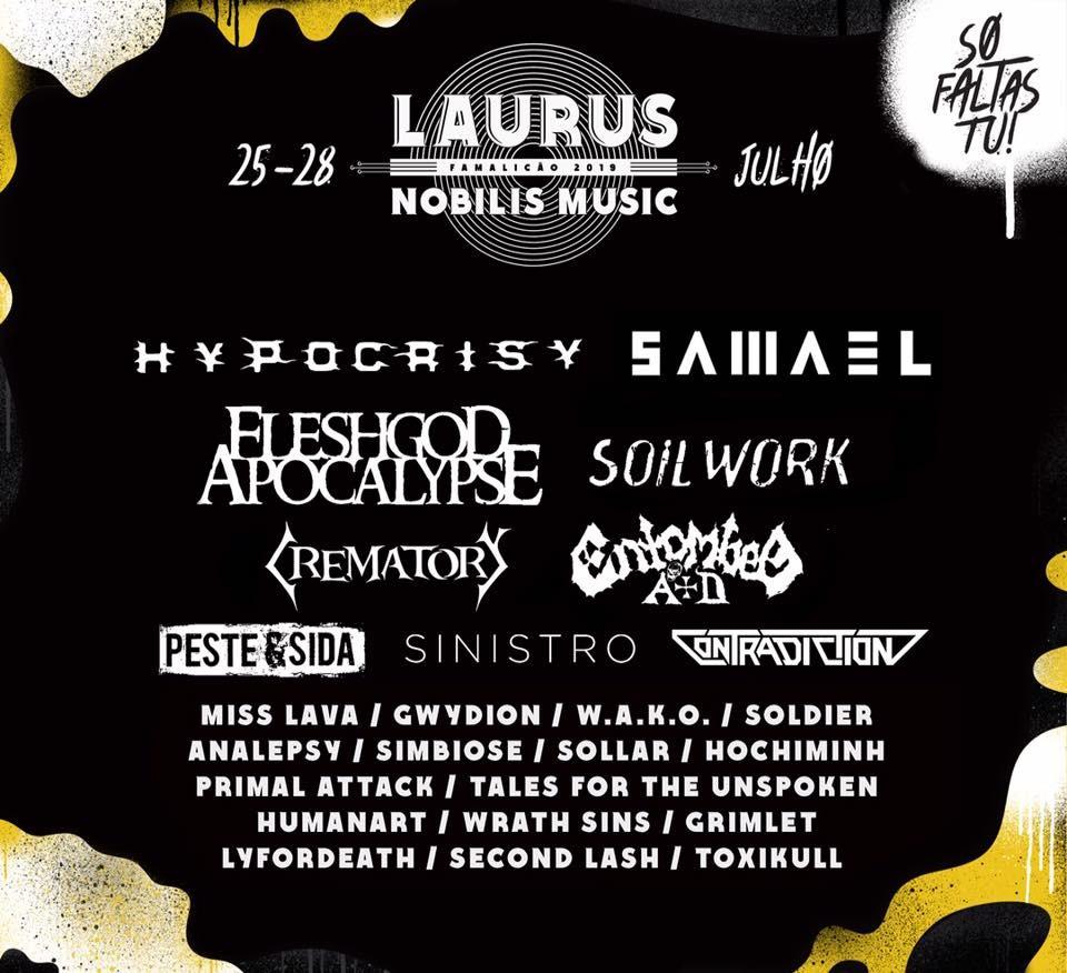 Festival LAURUS NOBILIS MUSIC FAMALIÇAO 2019