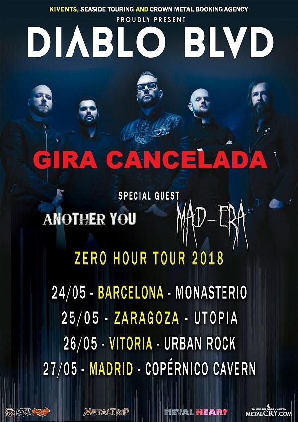DIABLO BLVD (Barcelona, Zaragoza, Vitoria, Madrid)
