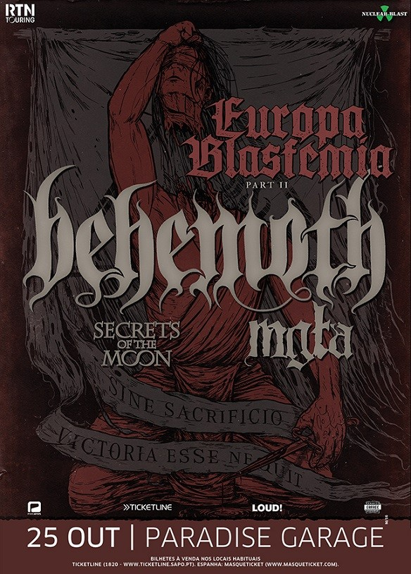BEHEMOTH + MGLA + Secrets of the Moon