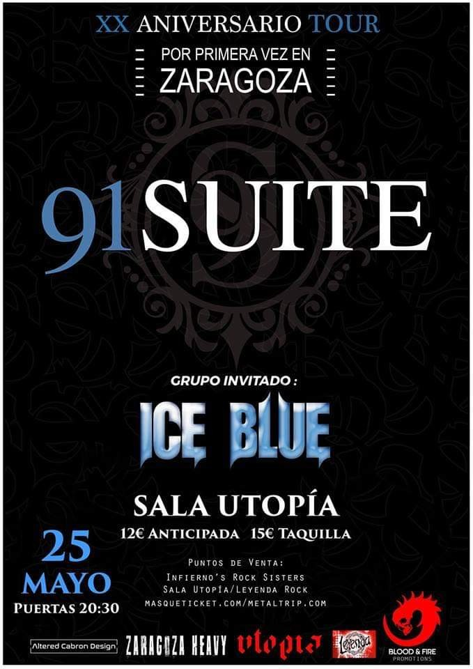91 SUITE - Ice Blue (Zaragoza)