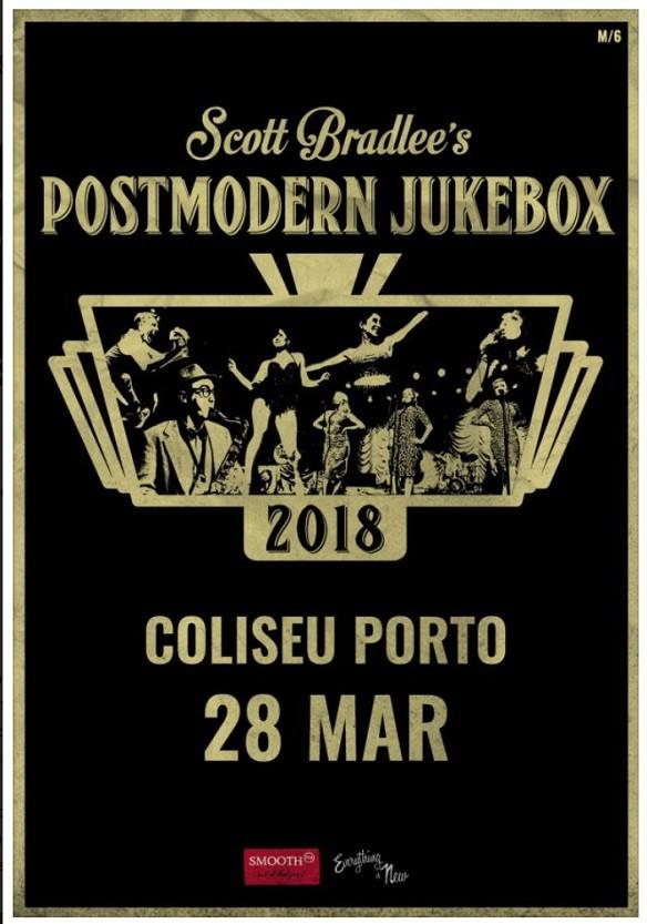 SCOTT BRADLEE'S POSTMODERN JUKEBOX (Oporto)