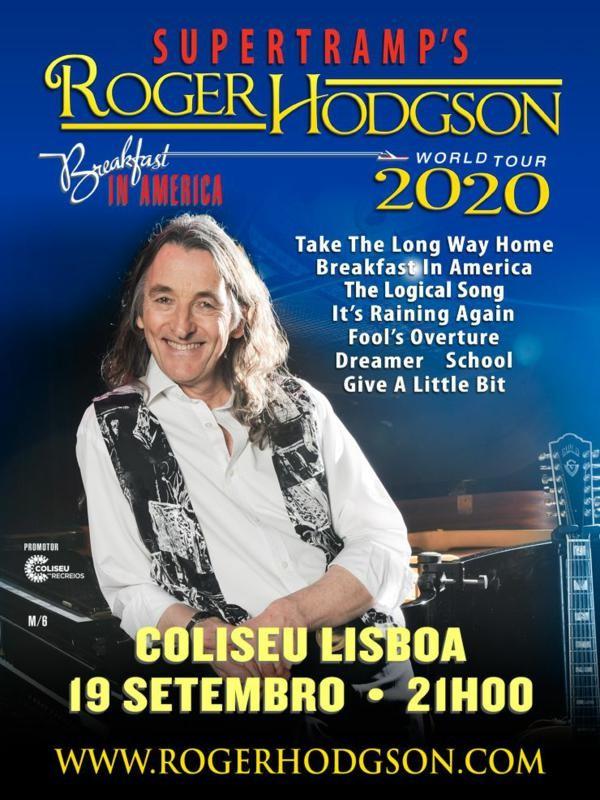 ROGER HODGSON (Lisboa)