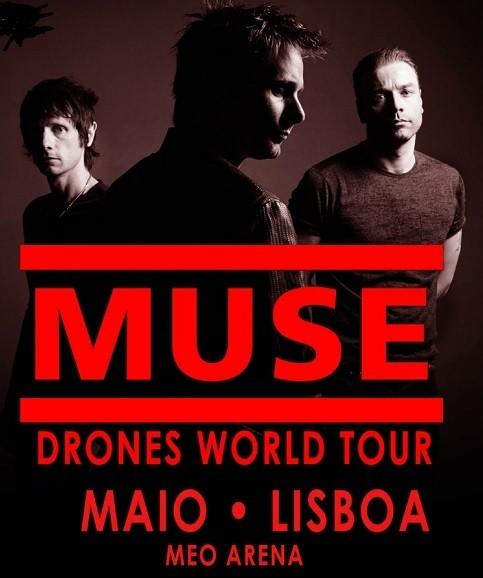MUSE en Lisboa (Drones World Tour)