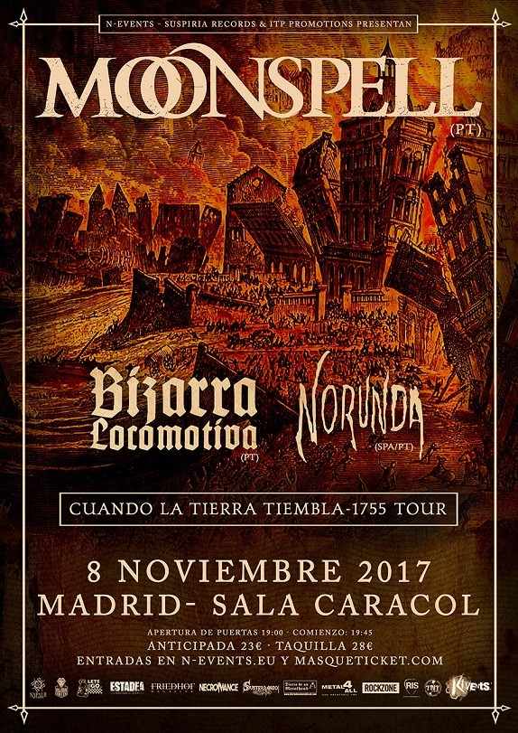 MOONSPELL (Madrid)