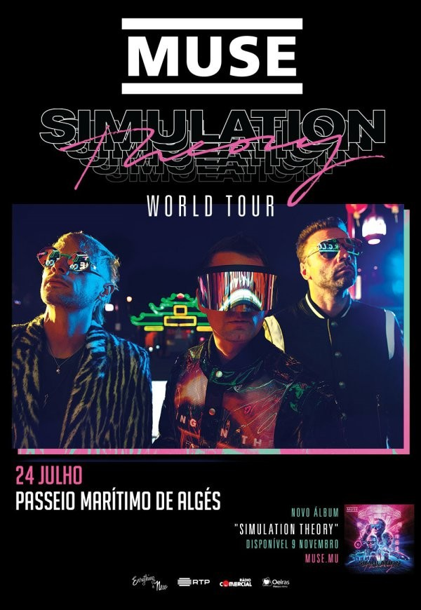 MUSE 'Simulation Theory World Tour' (Lisboa)