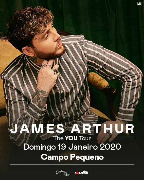 JAMES ARTHUR - The YOU Tour - (Lisboa, Portugal)