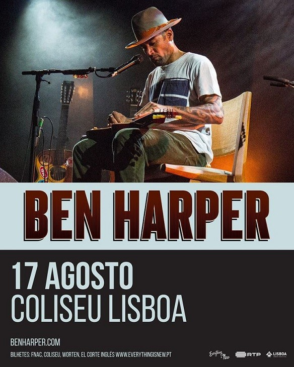 BEN HARPER (Lisboa)