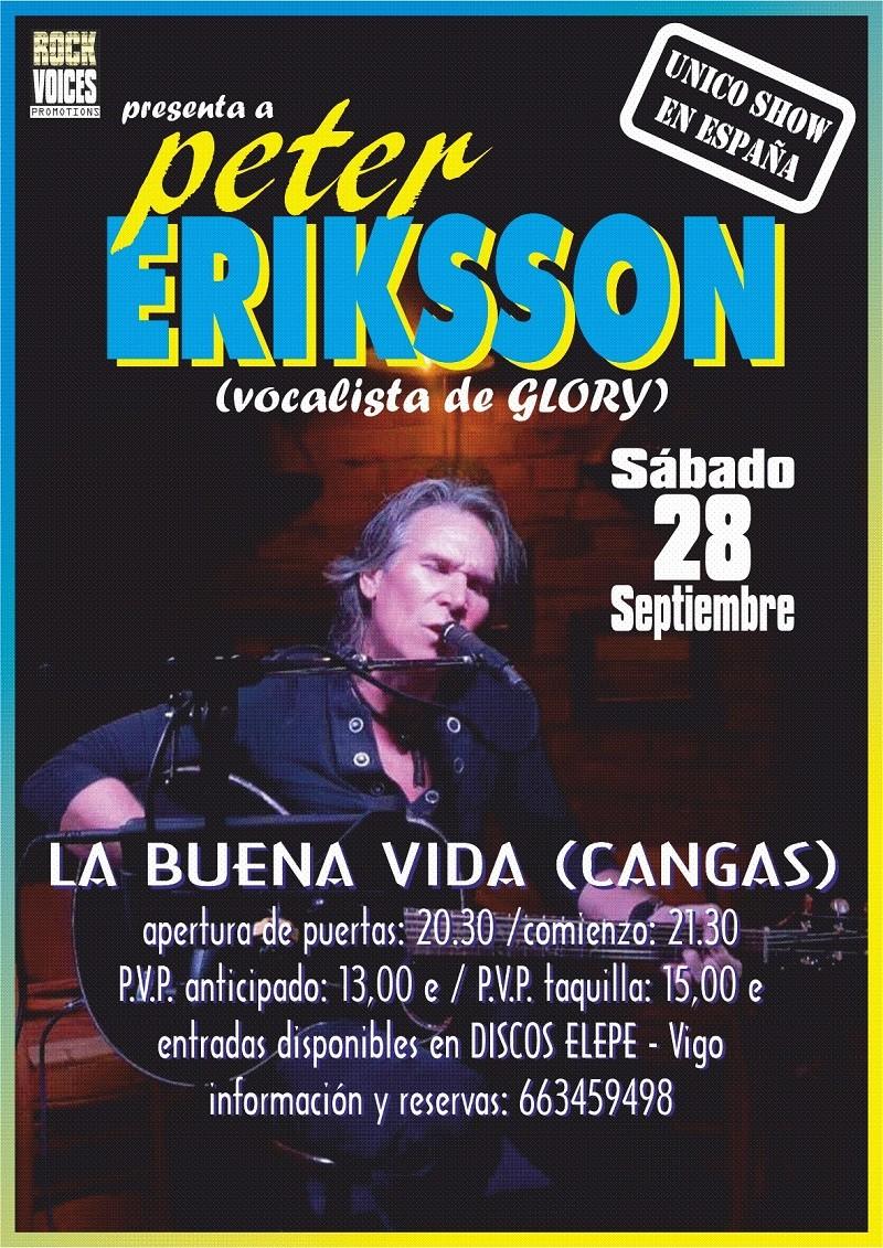 PETER ERIKSSON (Cangas, España)