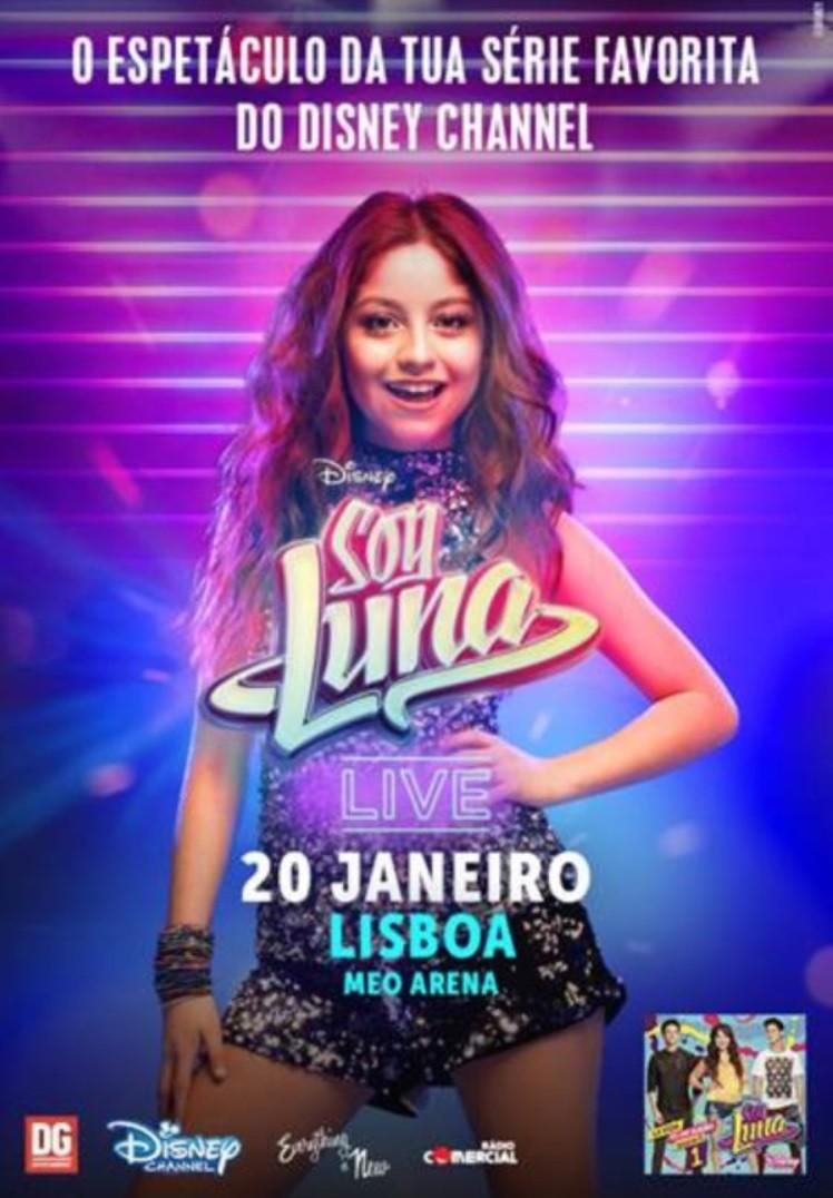 SOY LUNA Live (Lisboa)
