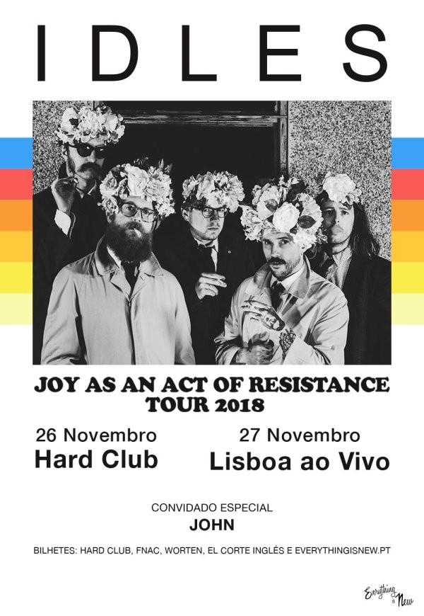 IDLES (conciertos en Oporto y Lisboa)
