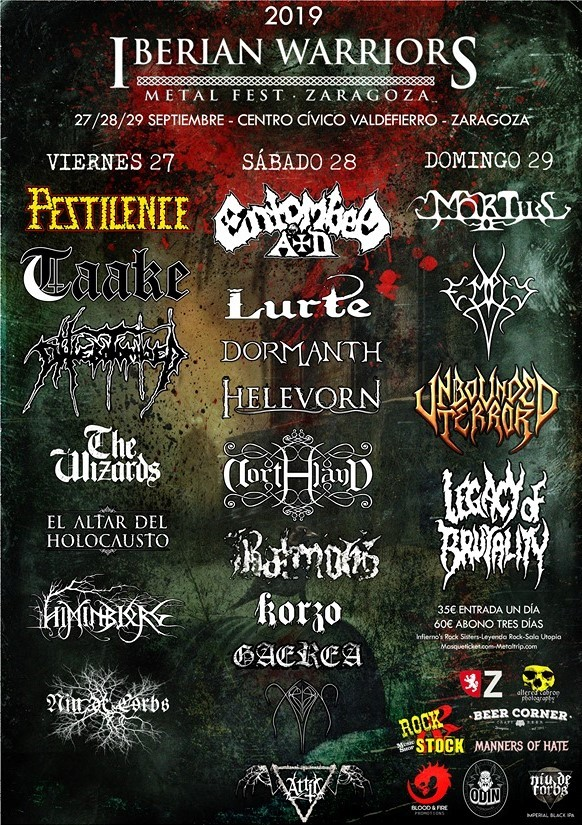 IBERIAN WARRIORS METAL FEST 2019