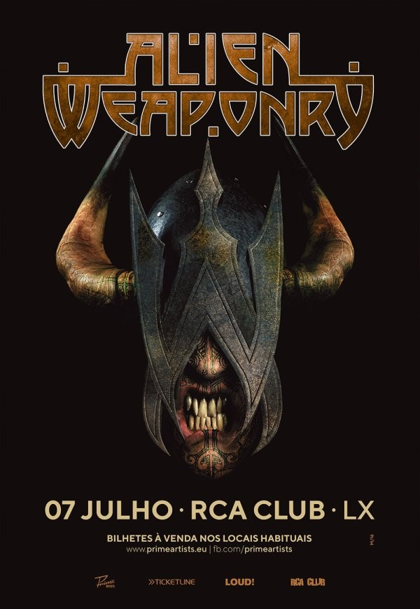 ALIEN WEAPONRY (Lisboa)