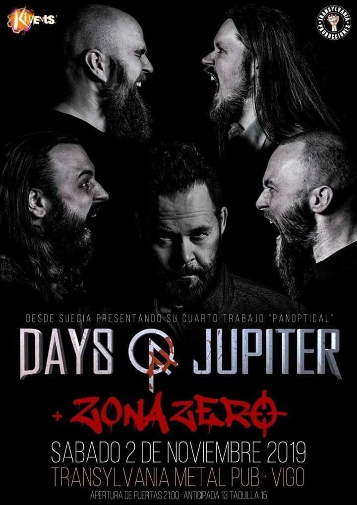 DAYS OF JUPITER + Zonazero (Vigo)