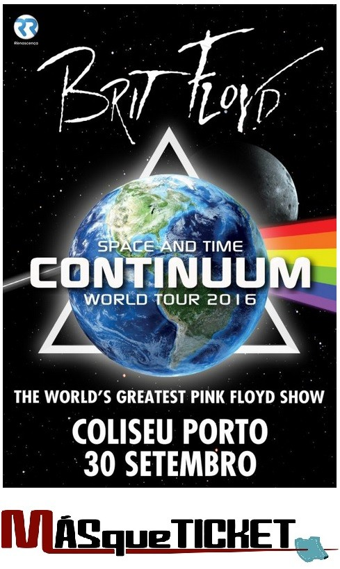 BRIT FLOYD (Space and Time Continuum Tour - Oporto)