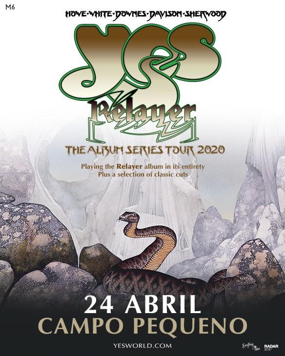 YES -The Album Series 2020 Tour- (Lisboa)