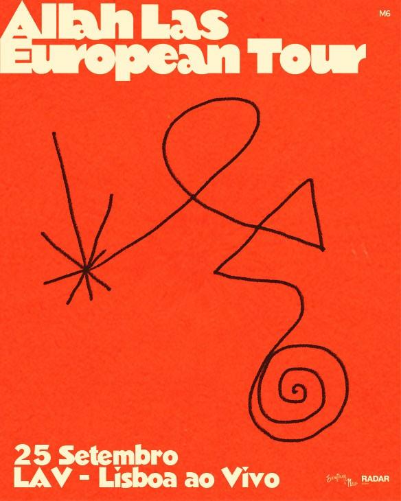 ALLAH-LAS 'European Tour' (Lisboa)