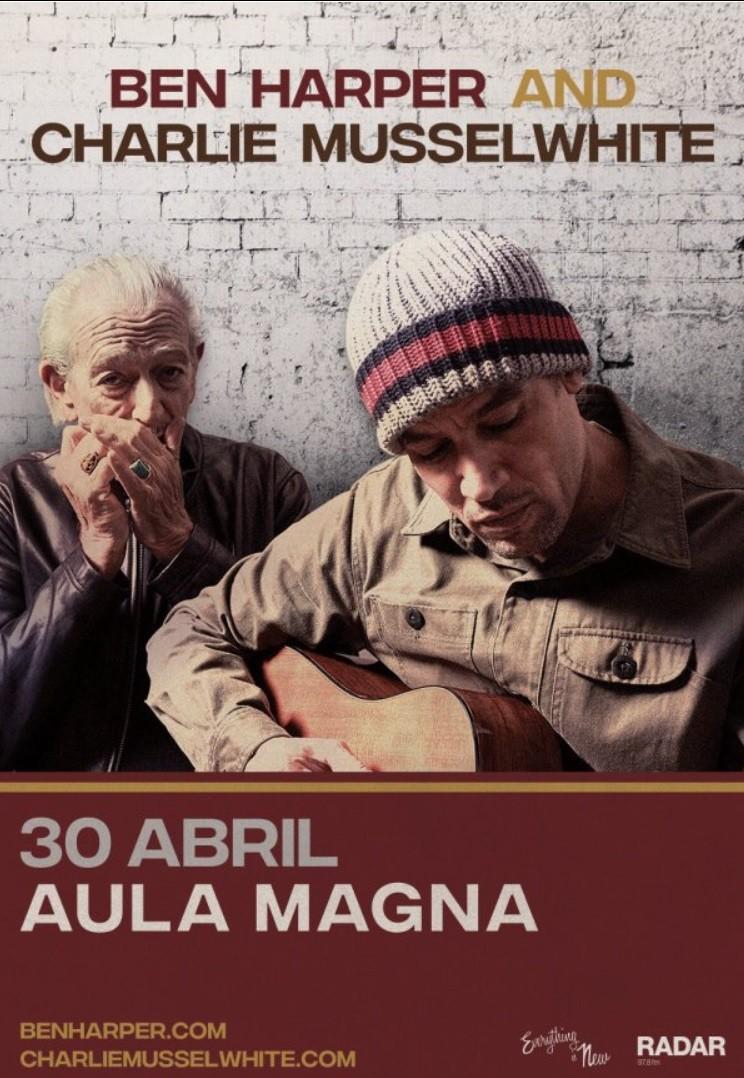 BEN HARPER & CHARLIE MUSSELWHITE (Lisboa)