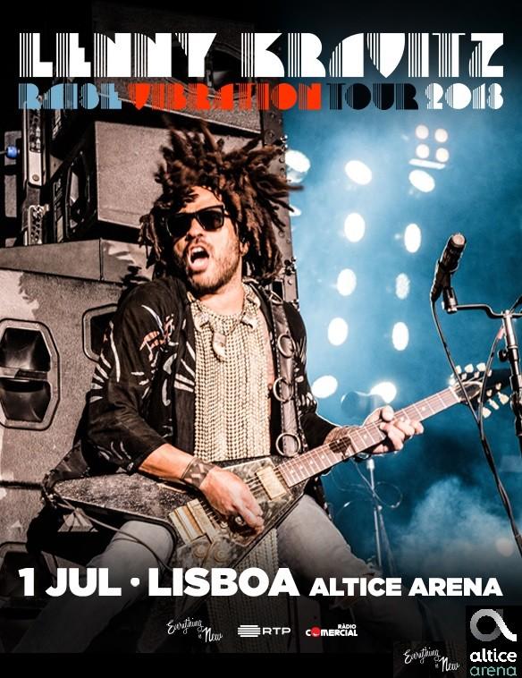 LENNY KRAVITZ - Raise Vibration Tour (Lisboa)