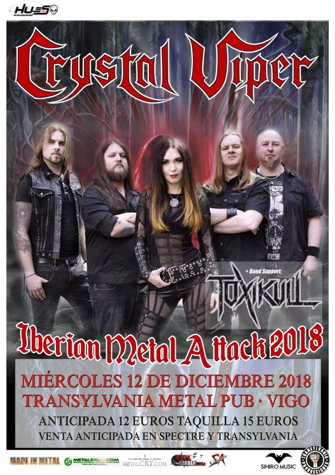 CRYSTAL VIPER + Toxikull (Vigo)