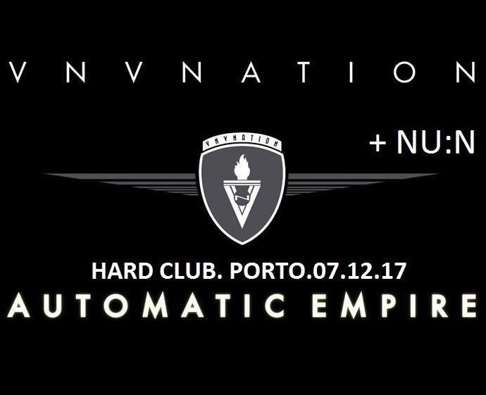 VNV Nation + NU:N (Oporto)