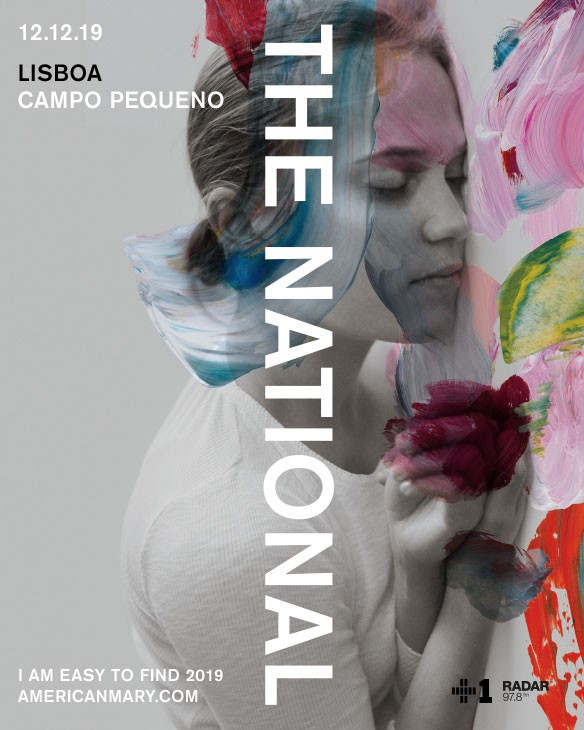 THE NATIONAL  'I AM EASY TO FIND TOUR'  (Lisboa)