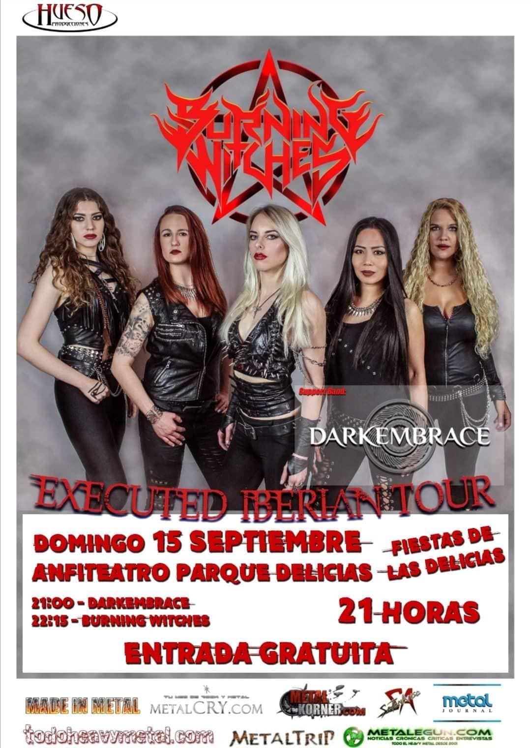 BURNING WITCHES (Zaragoza)
