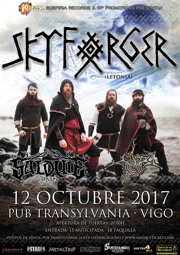 SKYFORGER + Salduie + Mileth (Vigo)