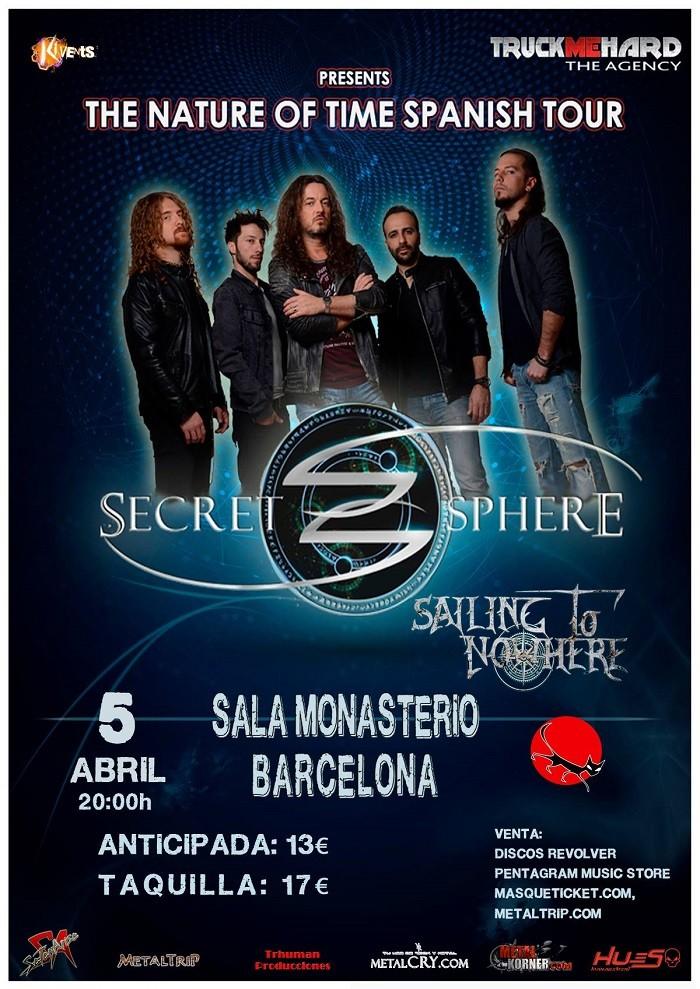 SECRET SPHERE (Barcelona)