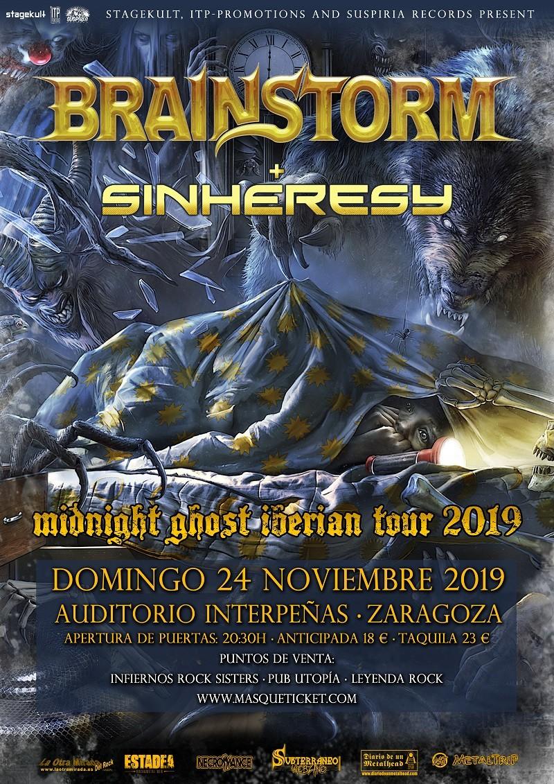 BRAINSTORM + SINHERESY (Zaragoza, España)