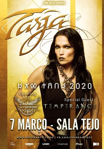 TARJA 'In The Raw Tour'( Lisboa)