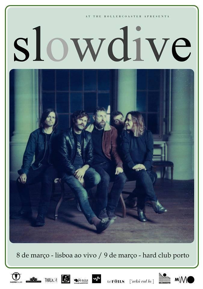 SLOWDIVE (conciertos en Lisboa y Oporto)
